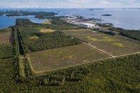 I Haraholmen skapar kommunen ett nytt industriområde. Foto Mikael Sundqvist