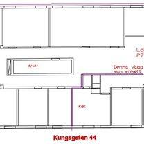 Kungsgatan 44, Centrum
