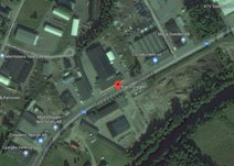 Karlsrovägen, Gängets industrimområde