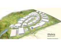 Albyberg, Inget område