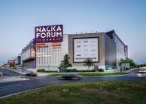 Forumvägen, Nacka Forum
