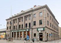 Algatan 2, Centrala Trelleborg
