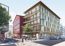 Kvarter 1 blir nummer 2 i Valand, Centrala Kungsbacka
