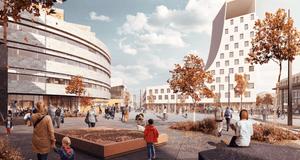 Bild: White arkitekter och Ghilardi+Hellsten arkitekter.