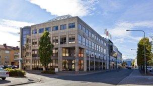 Slottsgatan, Centrum