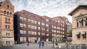 Lyckholms Fabriker Hus C, Almedal (Södra Göteborg)