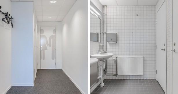 Kapprum och wc