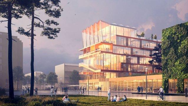 Bild: Castellum, Belatchew arkitekter/3D House