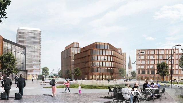 Bild: Atrium Ljungberg/ C.F. Møller
