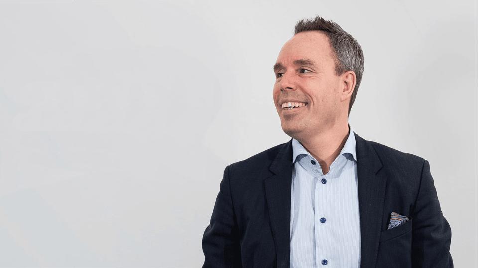 Daniel Åberg, vd på Lokalguiden Sverige AB.
