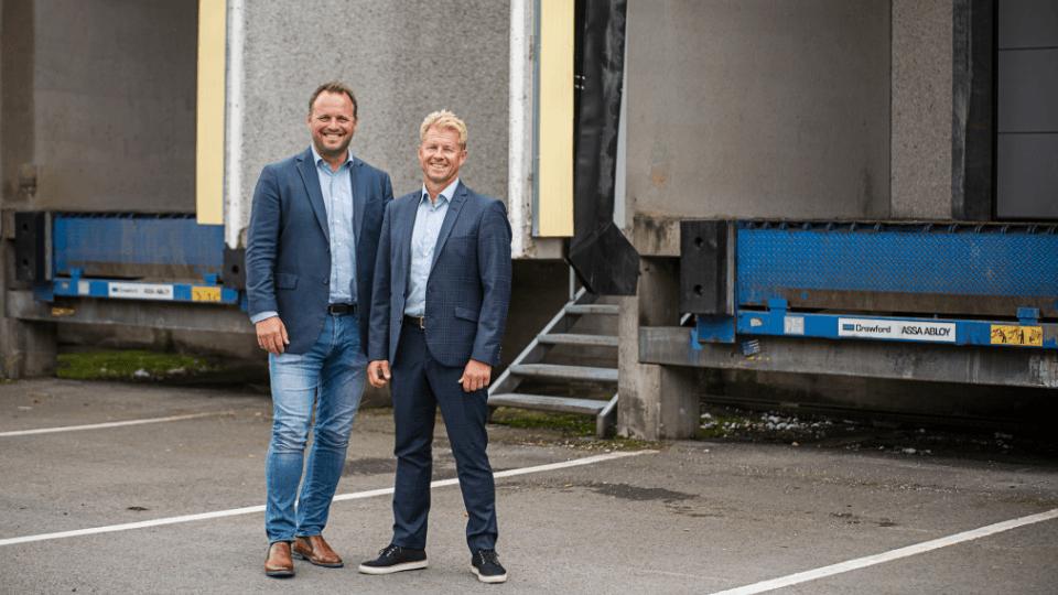 Thomas Pendén och Kristian Sundborn. Bild: Evelina Grönlund