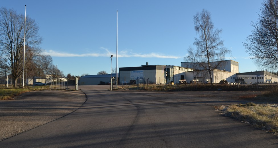 Åryd Industriby, infart