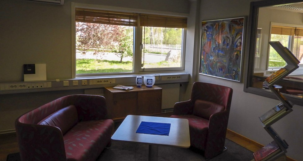 Mötesrum eller kontor nedre plan