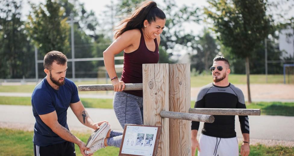 Möjlighet till träning - Utegym