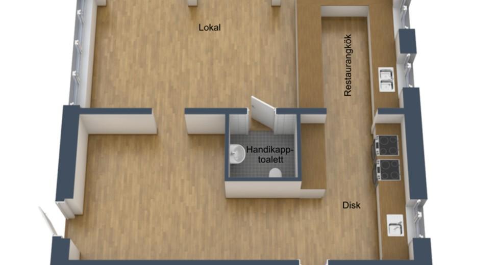 Planlösning 3D 1