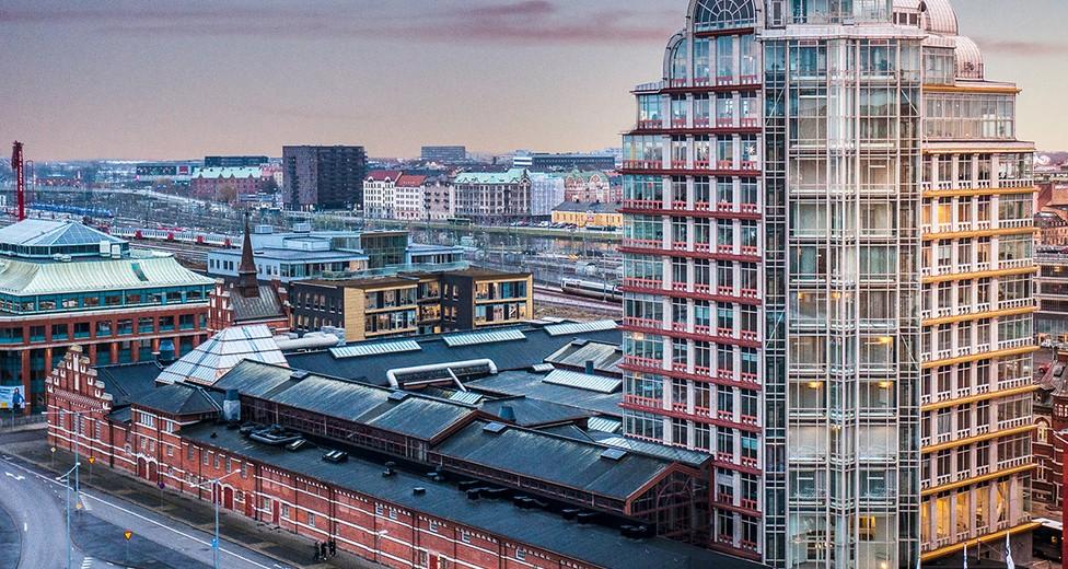 Mindpark Malmö centralen utifrån