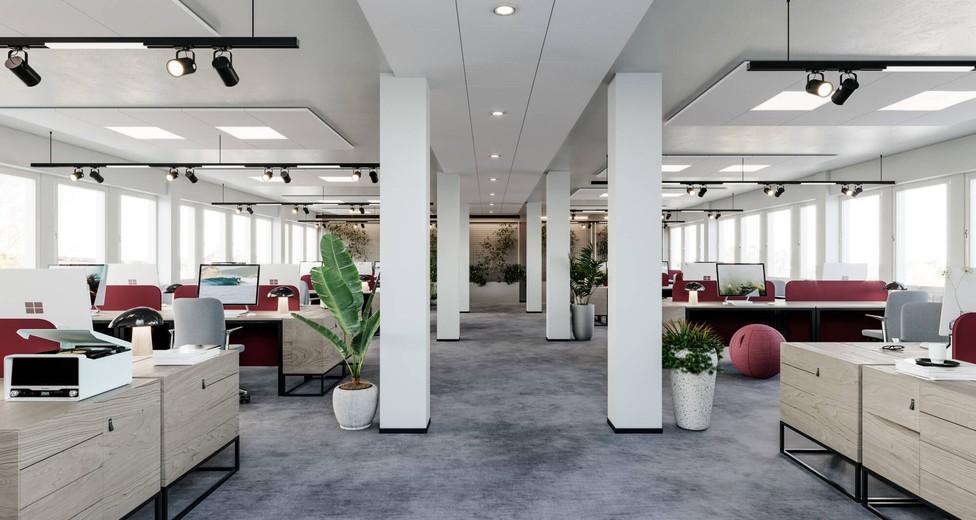 Visionsbild kontor