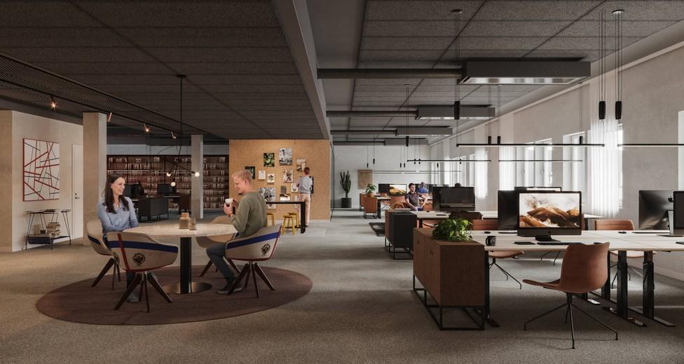 Fasta arbetsplatser och spontana mötesplatser