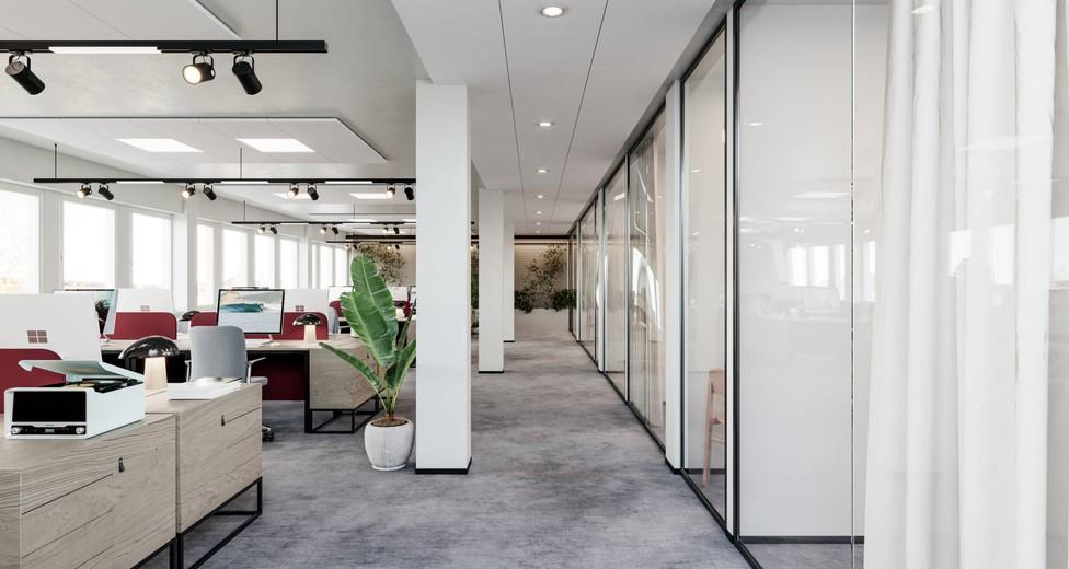 Visionsbild kontor & mötesrum