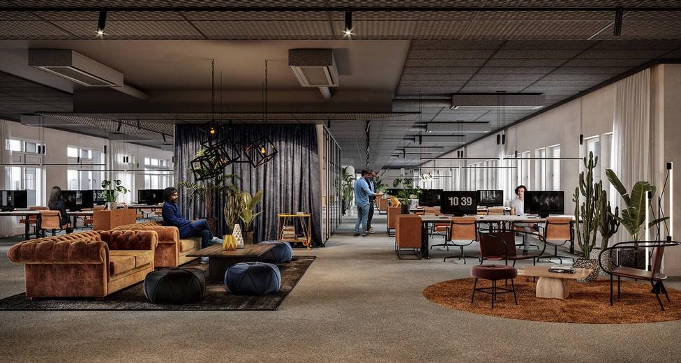 Flexibla ytor för möten och fasta arbetsplatser
