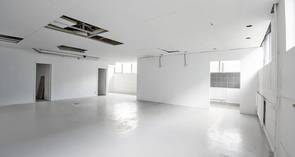 Öppen yta i lokalens inre delar