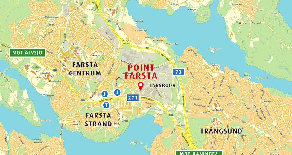 Point Farstas läge