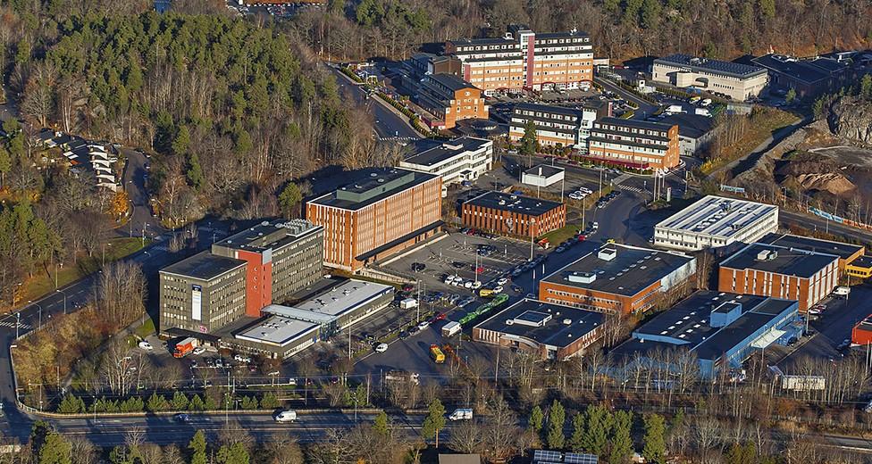 Området har en mix av ytor för lager, produktion och kontor