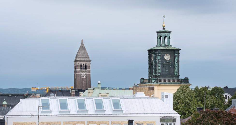 Utsikt fönster konferens