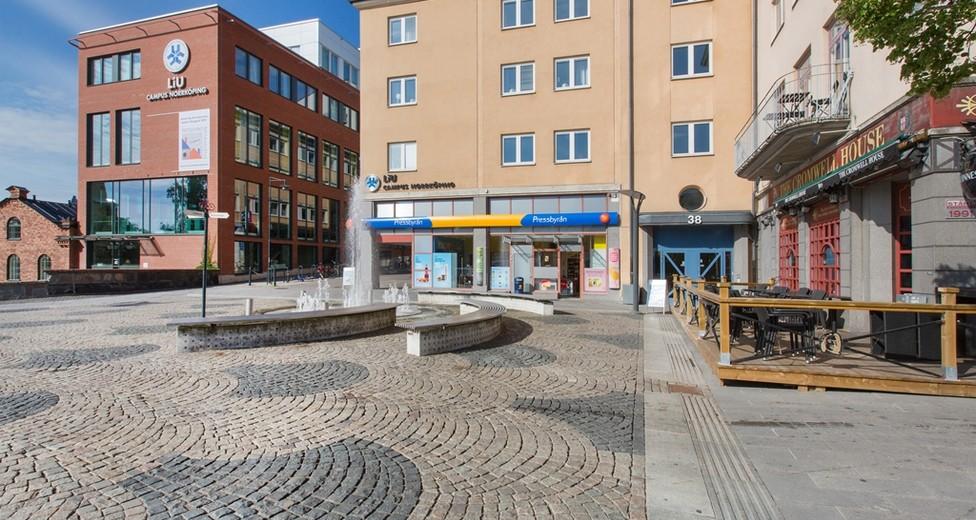 Utsida Skvallertorget