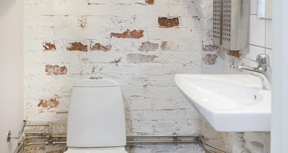 Toalett fd blombutik
