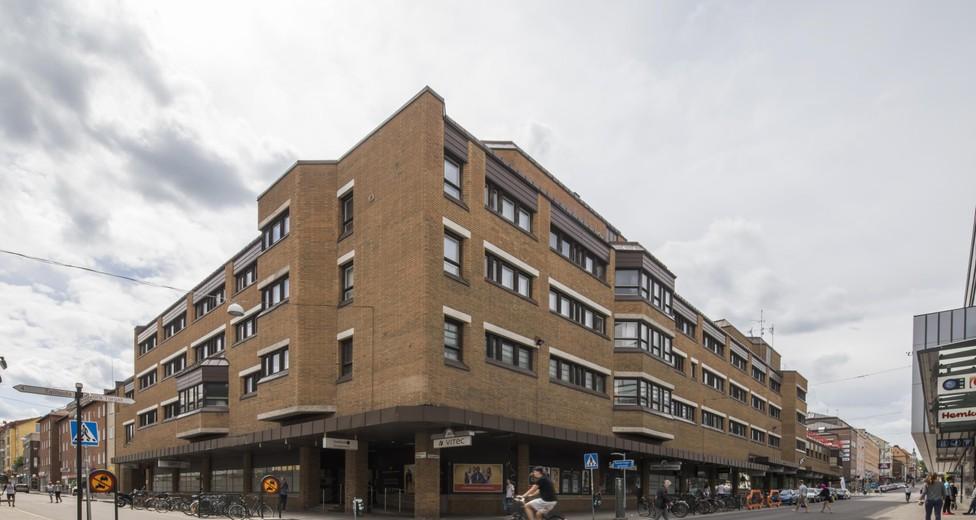 Gatuvy Snickaregatan - Storgatan