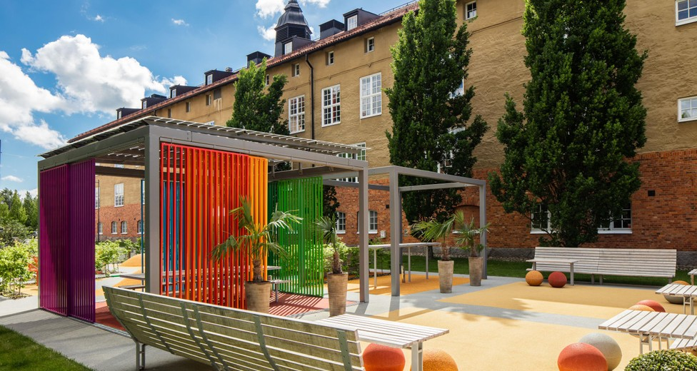 WorkOUT, Sveriges första utomhuskontor