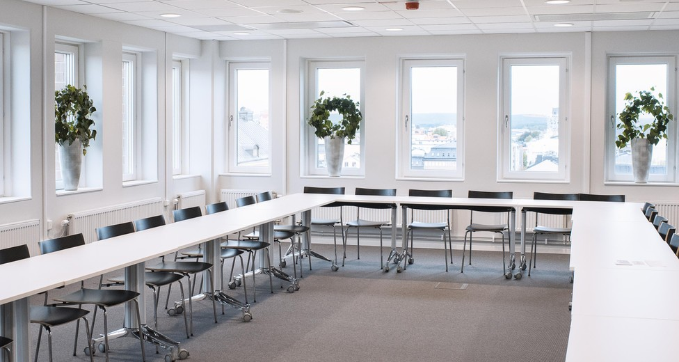 Konferens möblering