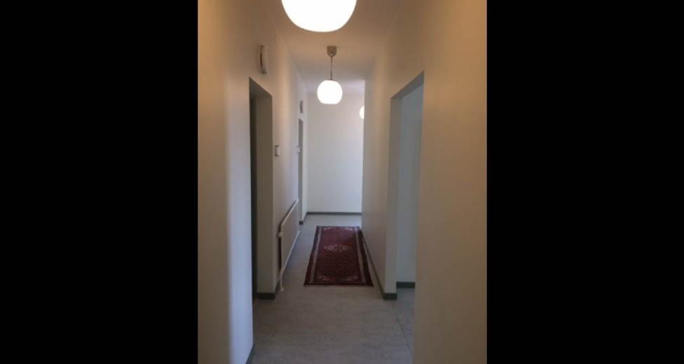 Korridor utanför kontor