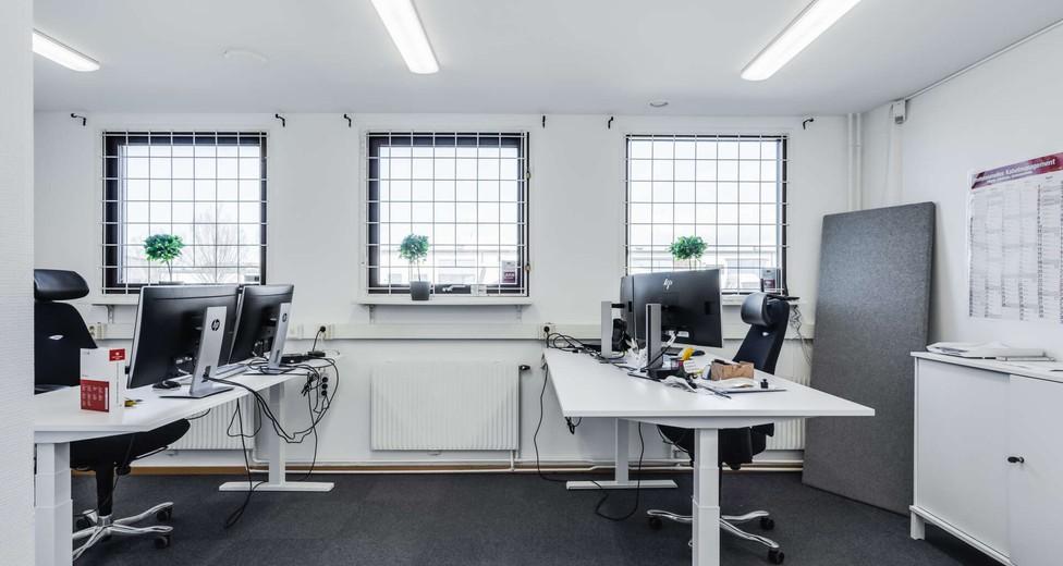 Ljust kontor