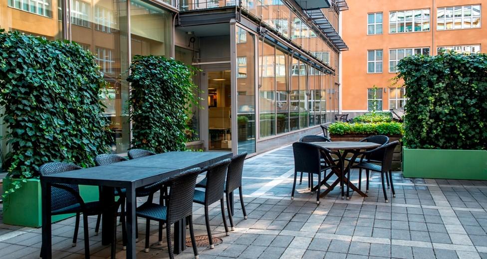 Regus Central Stockholm Sweden 837 Terrace with people - Master Samuelsgatan 60.jpg