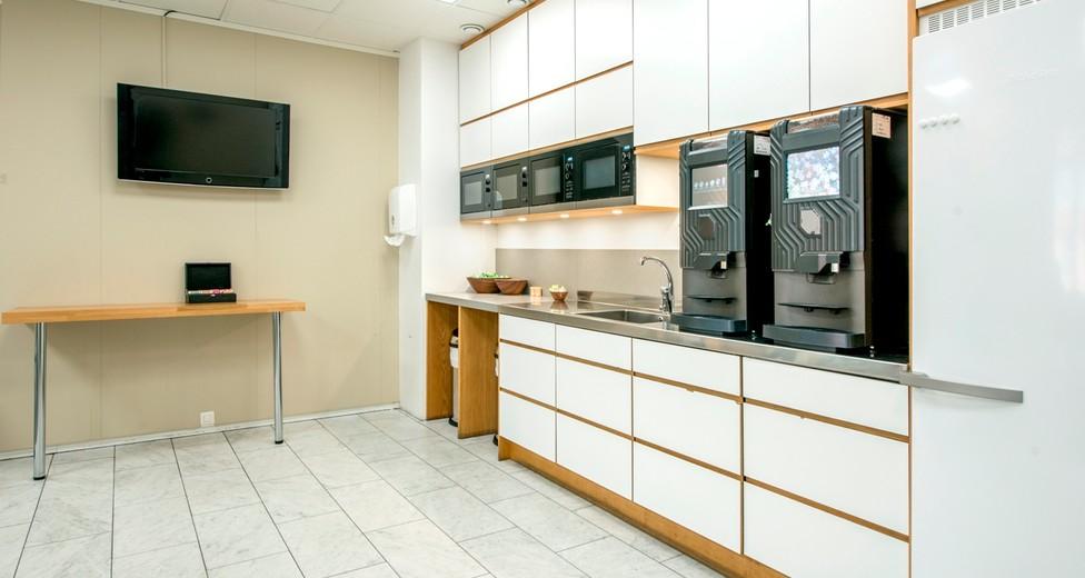 Regus Central Stockholm Sweden 837 Kitchen without people - Master Samuelsgatan 60.jpg